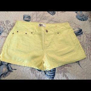 So shorts size 11